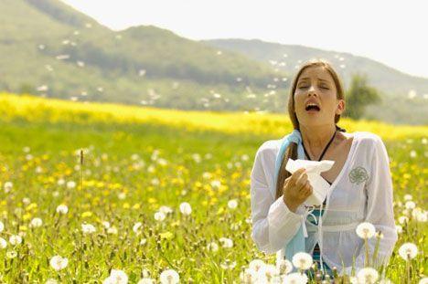 Primavera, allergia e dieta