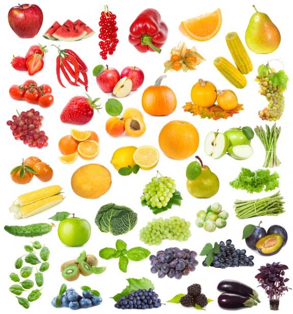 I colori della frutta#1: rosso giallo e arancio